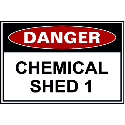 CHEMICAL SHED